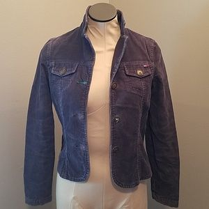 TOMMY JEANS BLUE COURDARY BLAZER SIZE SMALL